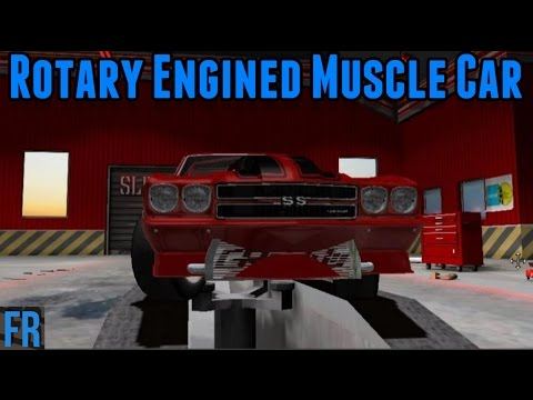 Rotary Engined Muscle Car - Street Legal Racing Redline