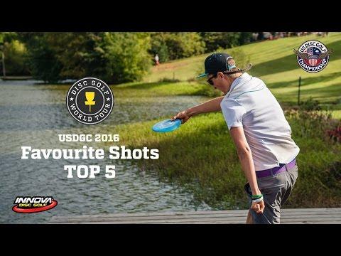 Top-5 shots of US Disc Golf Championship 2016