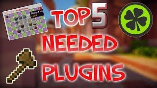 Top 5 Needed Minecraft Plugins
