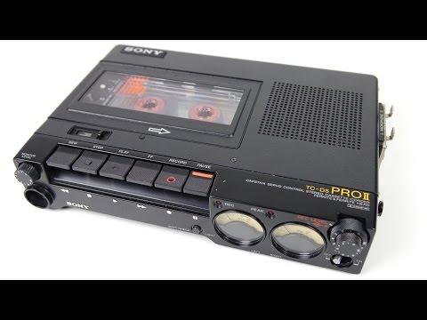 Classic Tech - Sony TC-D5 Field Recorder