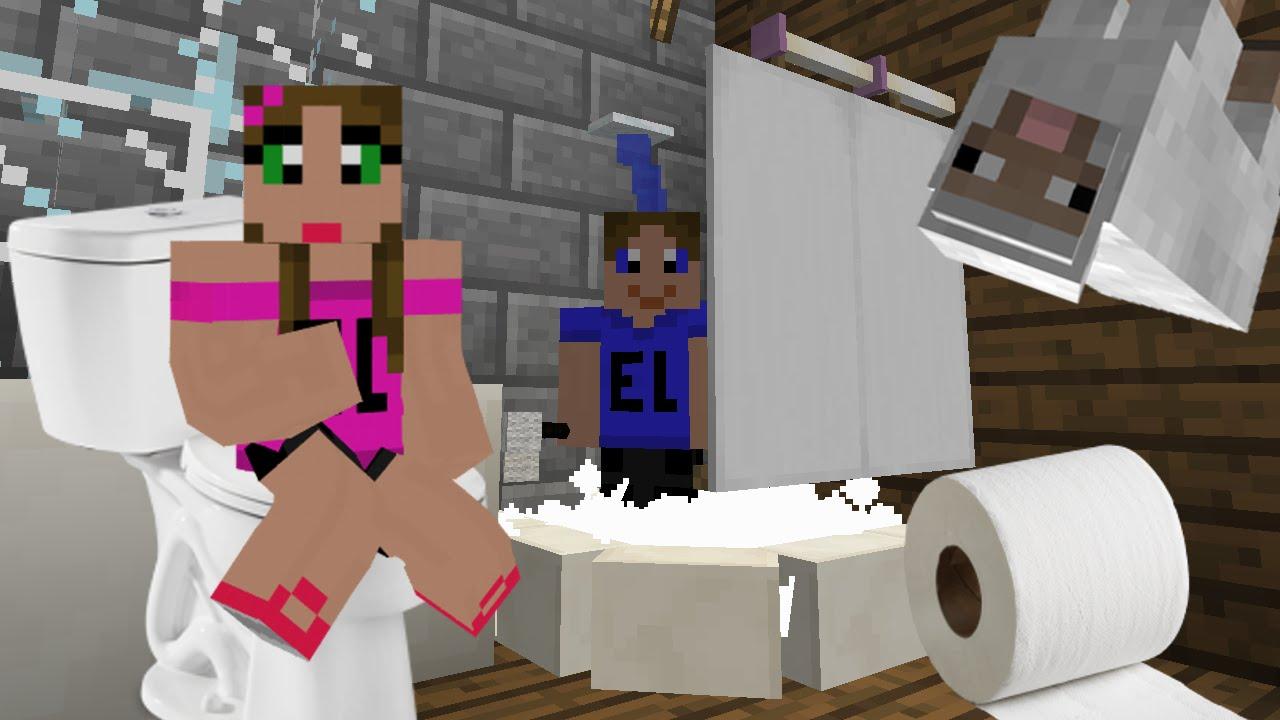 Come Fare Un Bagno.El Come Creare Il Bagno Perfetto In Minecraft Vanilla Bathroom Fixtures