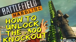How to unlock the .300 Knockout in Battlefield Hardline (Professional Syndicate Assignment)