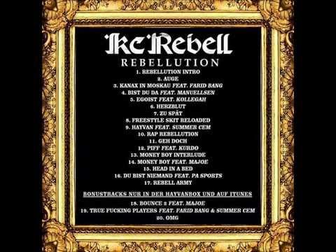 Kc Rebell freestyle skit reloaded - Rebellution - Original! +License