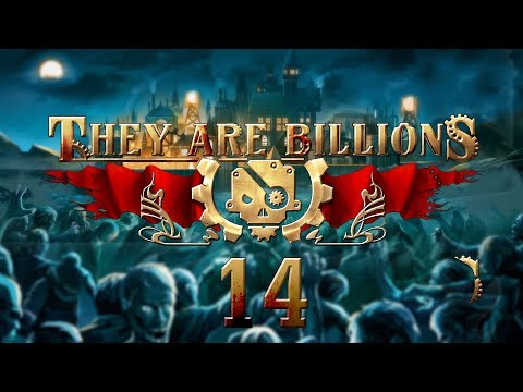 THEY ARE BILLIONS | ONSLAUGHT OVERFLOW #14 Zombie Strategy - Let's Play Gameplay