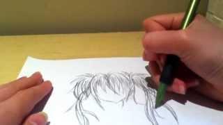 Drawing Shugo Chara Hoshina-Chan (Part 1)