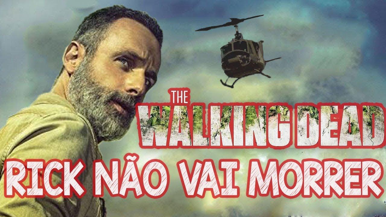 Rick Grimes NÃO Vai Morrer Em The Walking Dead TWD 9