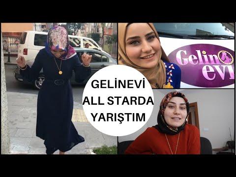 GELİNEVİ ALL STAR'DA YARIŞTIM | SET ARKASINDA NELER YAŞADIM | BİR HAFTALIK VLOG