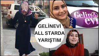 GELİNEVİ ALL STAR'DA YARIŞTIM | SET ARKASINDA NELE