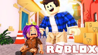 Homeless Baby Gets Adopted In Roblox!