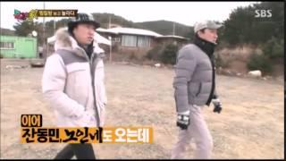 SBS 김병만의 즐거운가 방송_김병만의 찜질방짓기편