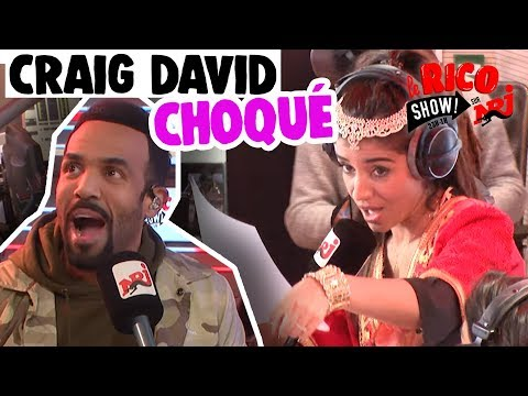 Craig David choqué par la cover de Sarah - Le RicoShow sur NRJ