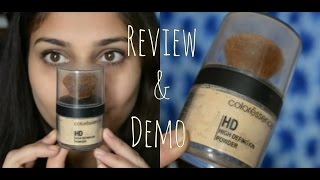 Coloressence HD High Defintion Loose Powder Review amp Demo Cruelty Free Nidhi Katiyar