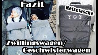 Fazit nach 14 Monaten Bugaboo Donkey Twin/Geschwisterwagen/Zwillingswagen/Review/Mel´s Kanal