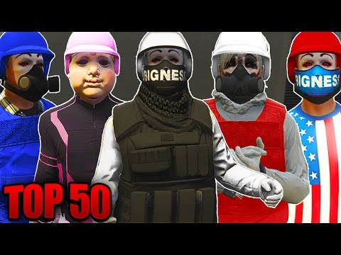 GTA 5 Online - BEST 50 MODDED OUTFITS TUTORIAL OF ALL TIME! *PATCH 1.40* PS4/XBOX1/PC (GTA 5 TOP 50)