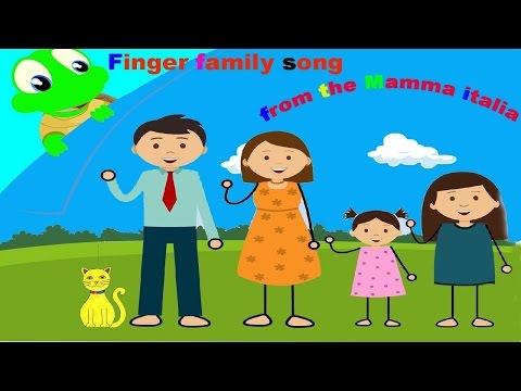 FINGER FAMILY I la Famiglia - Canzoni Inglese per Bambini