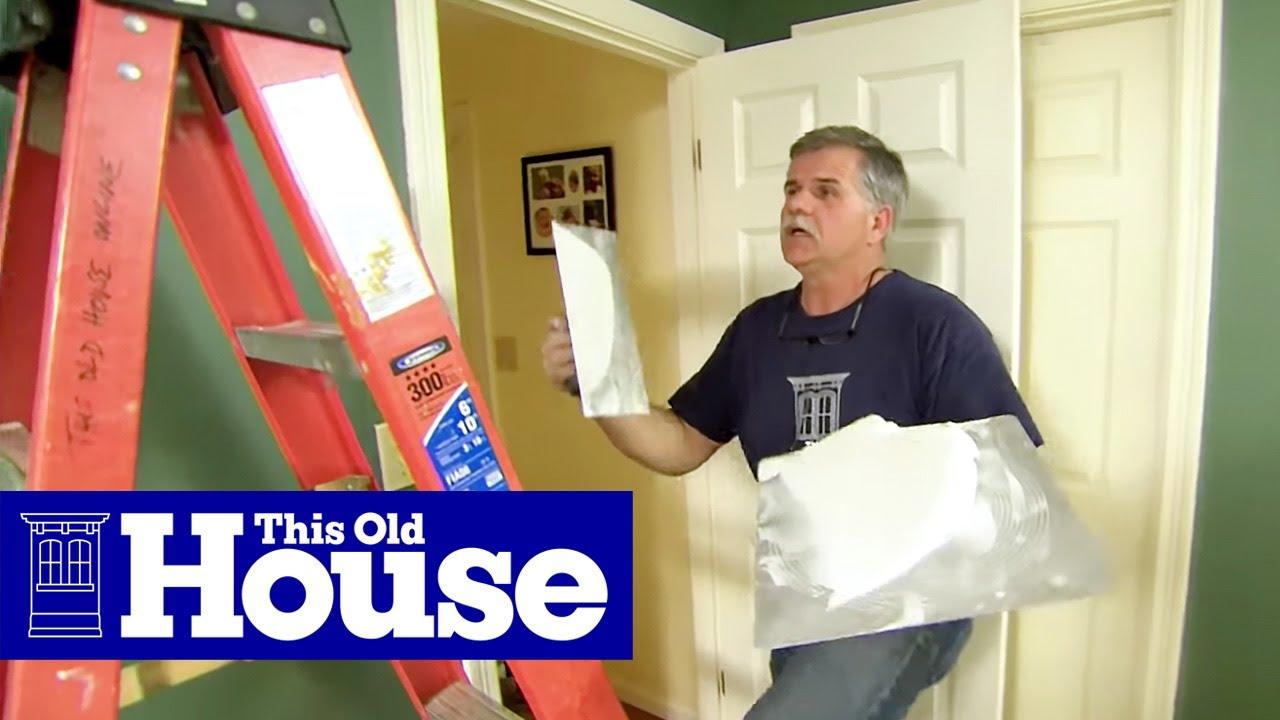 Repairing Old Ceilings | www.energywarden.net