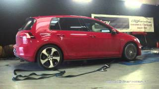 VW Golf 7 GTI 230cv Reprogrammation Moteur @ 309cv Digiservices Paris 77 Dyno