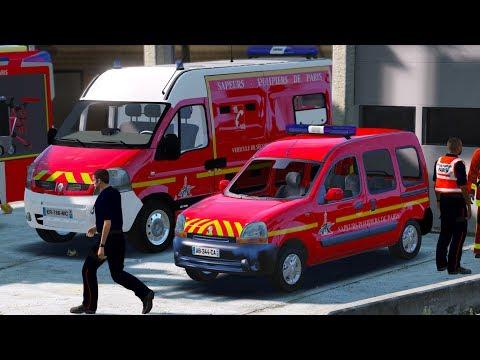 [GTA 5] Sapeur-Pompier de Paris #INTERVENTION12