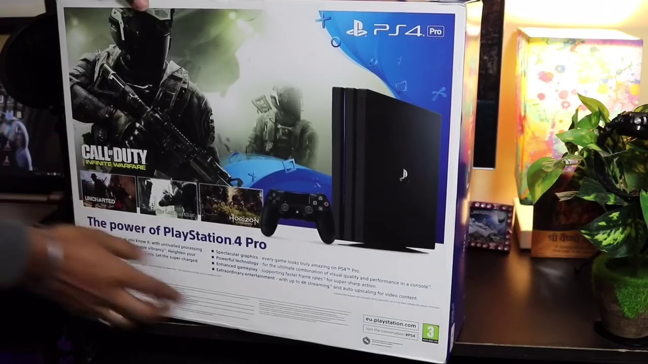 Sony Ps4 pro unboxing india in hindi