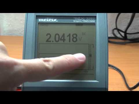 Multimeter review / buyers guide: Metrix MTX3282 Graphical Digital Data Logging Multimeter