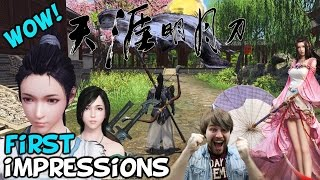 "Moonlight Blade MMORPG First Impressions ""Is It Worth Playing?"" (天涯明月刀)"