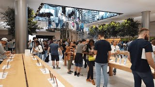 Gambar cover NYC Walk ⁴ᴷ⁶⁰ : Apple Store 5th avenue (newly remodeled) - New York