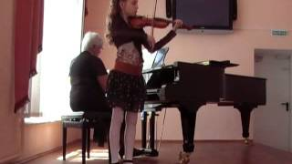 Вивальди концерт G.  Сандра