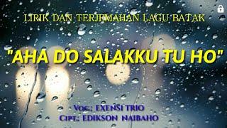 Lirik Terjemahan Lagu Batak Aha Do Salakku Tu Ho