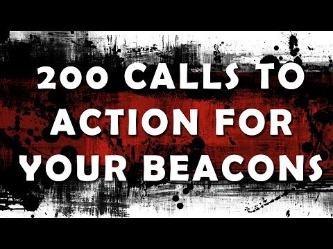 200 Calls-to-Action for your Bluetooth Beacon and Proximity Marketing Business - By TK Kinney