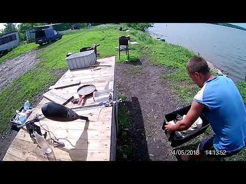 Рыбалка в Потуданском пруду (село Потудань, Старооскольский округ)