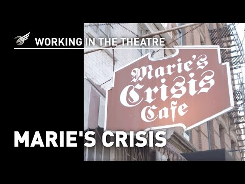 Working in the Theatre: Marie