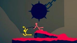 НОВАЯ СМЕШНАЯ БИТВА МАЛЕНЬКИХ ЧЕЛОВЕЧКОВ! (Stick Fight The Game)