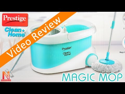 Prestige Magic Mop Review | Prestige Mop PSB10 Review | Unboxing Prestige Mop Cleaning