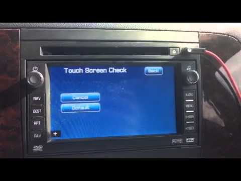 Gmc Navigation Secret Nagivation Menu Youtube