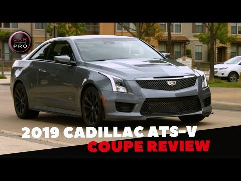 2019 Cadillac ATS-V Coupe Packs Solid Power and Premium Luxuries