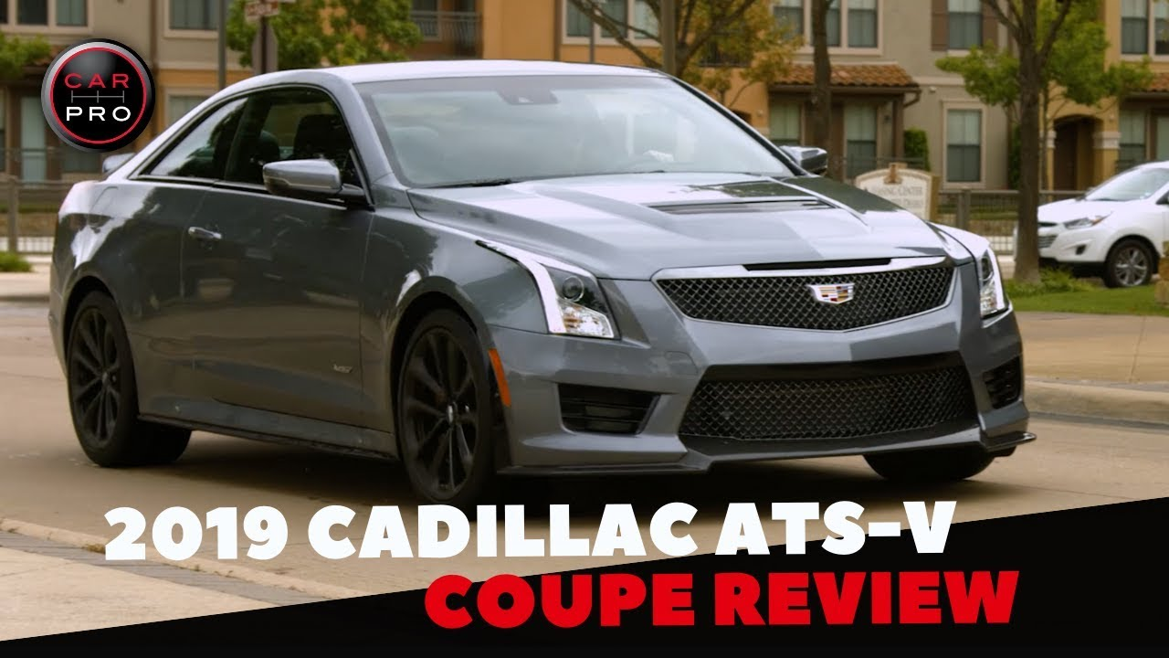 2020 Cadillac ATS-V Coupe Spy Shoot