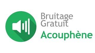 ACOUPHÈNE - Bruitage Gratuit