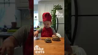 CHEF KOBE PREPARES DINNER FOR HIS SULCATA TORTOISES