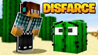 Minecraft DISFARCE DE LÃ - (Esconde-Esconde)