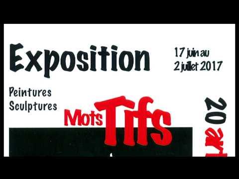 """L'Art Chauve Exposition """"Mots Tifs"""""""