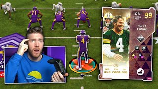 This New Brett Favre Is The Best QB In MUT... Inside The Mind Madden 21 Ultimate Team Gameplay