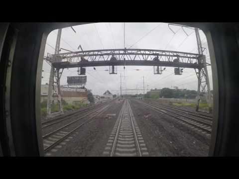 Amtrak Train 172 - Philadelphia to Trenton Rear View (GoPro)