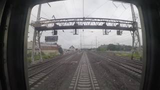 Amtrak Train 172 - Philadelphia to Trenton Rear View (GoPro)