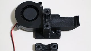 3D Printer - New E3D Bowden Extruder Mount