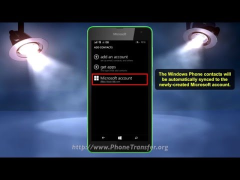 How to Backup Windows Phone Contacts to OneDrive, Sync Contacts With OneDrive on Lumia Phone