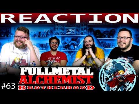 "Fullmetal Alchemist: Brotherhood Episode 63 REACTION!! ""The Other Side of the Gateway"""