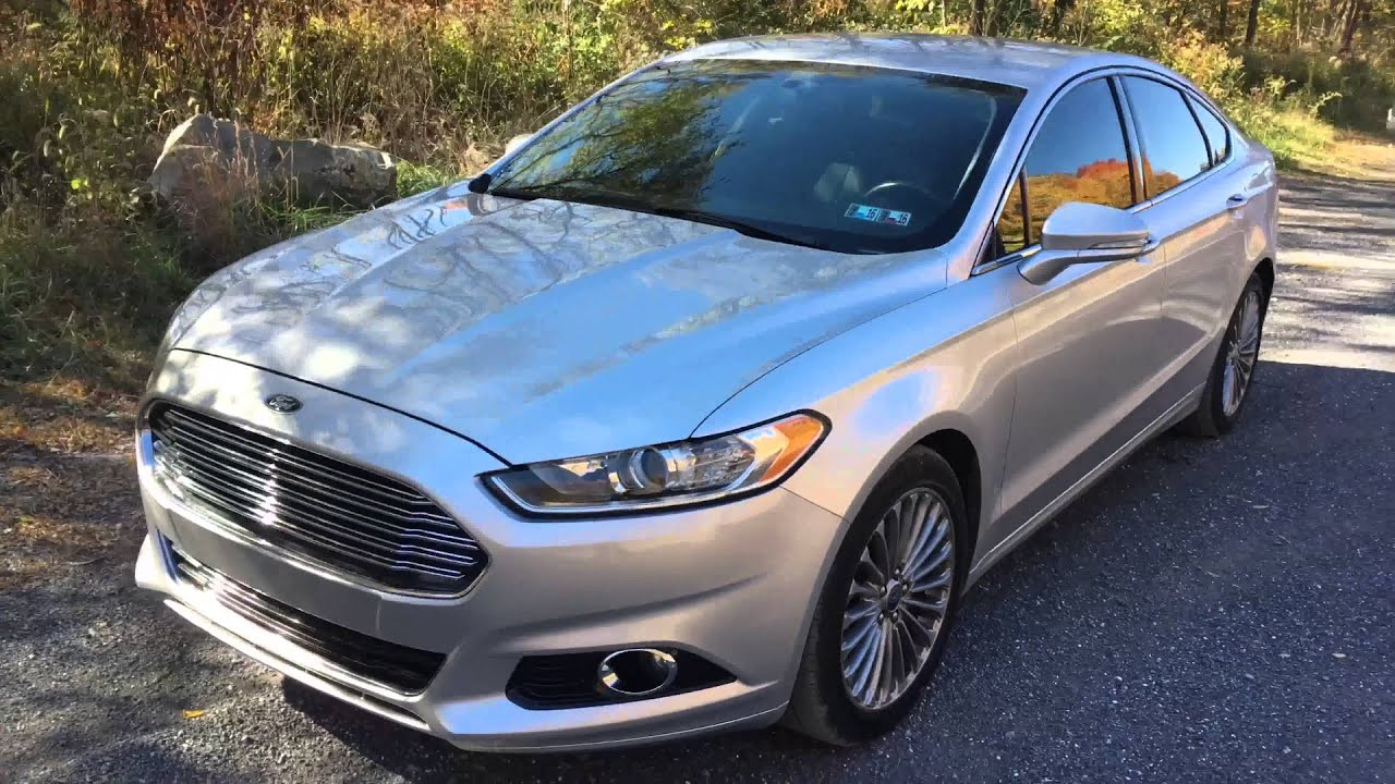 Is The Ford Fusion Titanium The Best Car For Uber Drivers