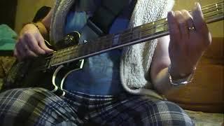 Гамма до мажор +  рок'н'ролльный басовый ход