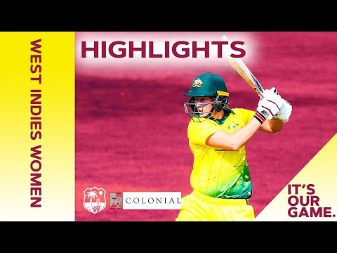 West Indies Women vs Australia Women | 3rd Colonial Medical Insurance ODI 2019 - Highlights