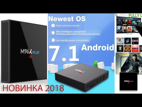 Новинка TV Box M96X Plus Android 7.1 с достойными характеристиками Обзор